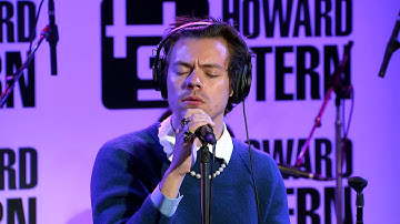 "Harry Styles Covers Peter Gabriel's ""Sledgehammer"" Live on the Howard Stern Show"