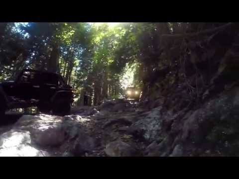 Jeep GoPro  BC Jeep  Eagle Mountain   Sunday July 27
