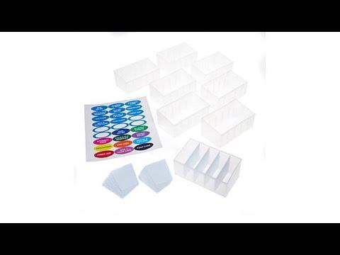 StoreSmith 8piece Medicine Cabinet Organizer
