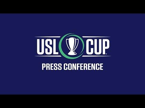 USL Cup Press Conference | #USLCup