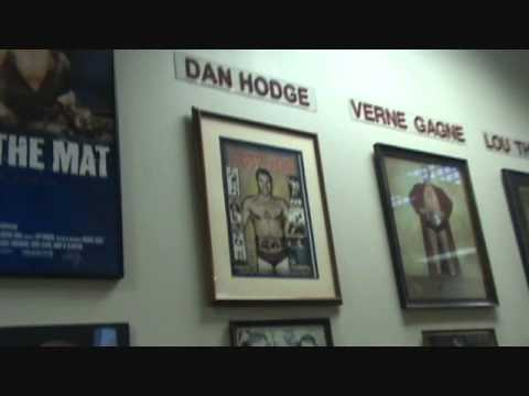 10 minute min-tour of National Wrestling Hall of Fame Dan Gable Museum