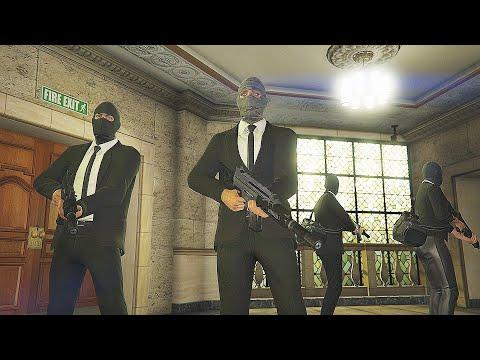 GTA 5: Pacific Standard Heist Bank Robbery