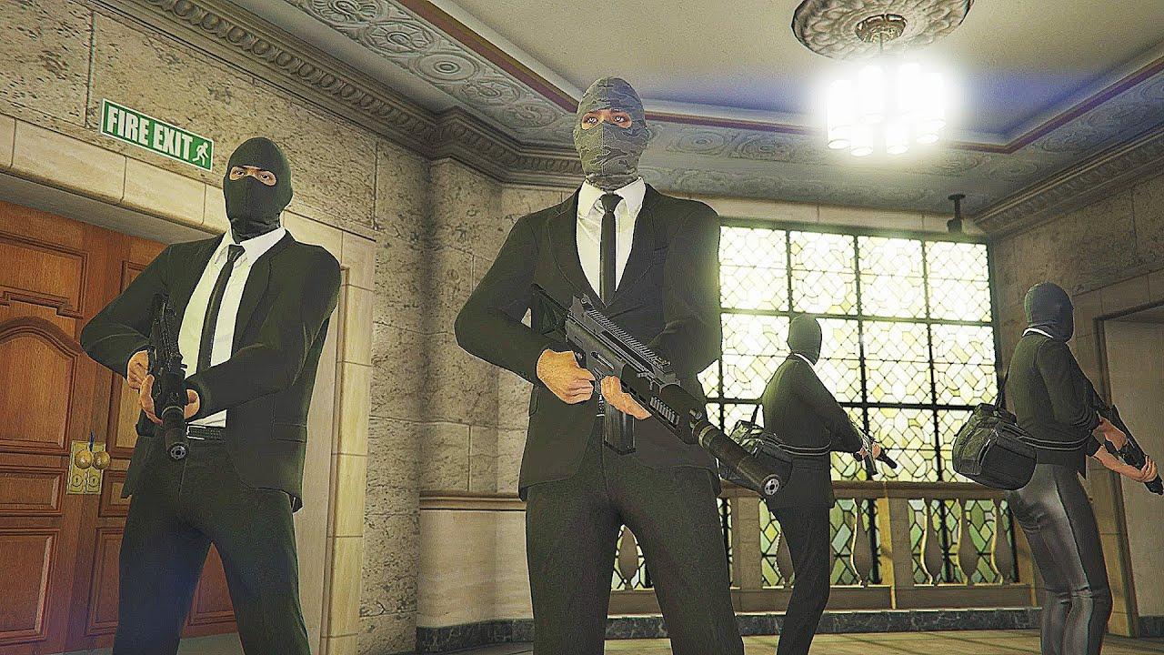 Download GTA 5: Pacific Standard Heist Bank Robbery