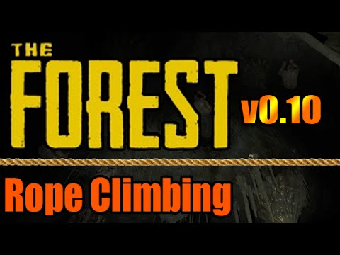 the forest how to make rope