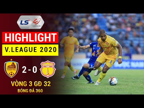 BHTS Quang Nam Nam Dinh Goals And Highlights