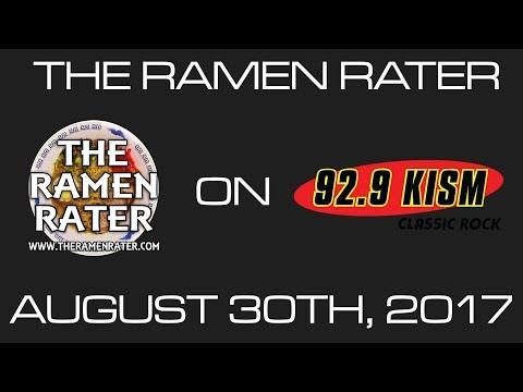 The Ramen Rater on KISM 92.9FM Bellingham, WA 8/30/17
