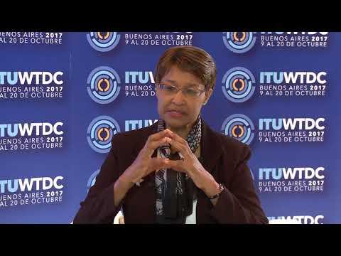 ITU INTERVIEWS @ WTDC-17: Bernadette Lewis, Caribbean Telecomm. Union, Republic of Trinidad y Tobago
