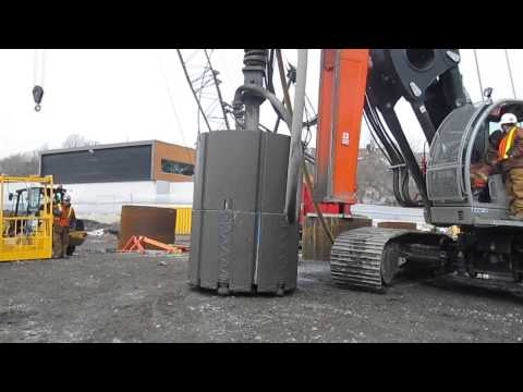 Geodex.ca MDT TH-26 w/ 72'' cluster drill (2) in Montreal, Quebec, Canada