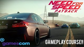 NEED FOR SPEED PAYBACK: BMW M5 RACE - 1:52.81
