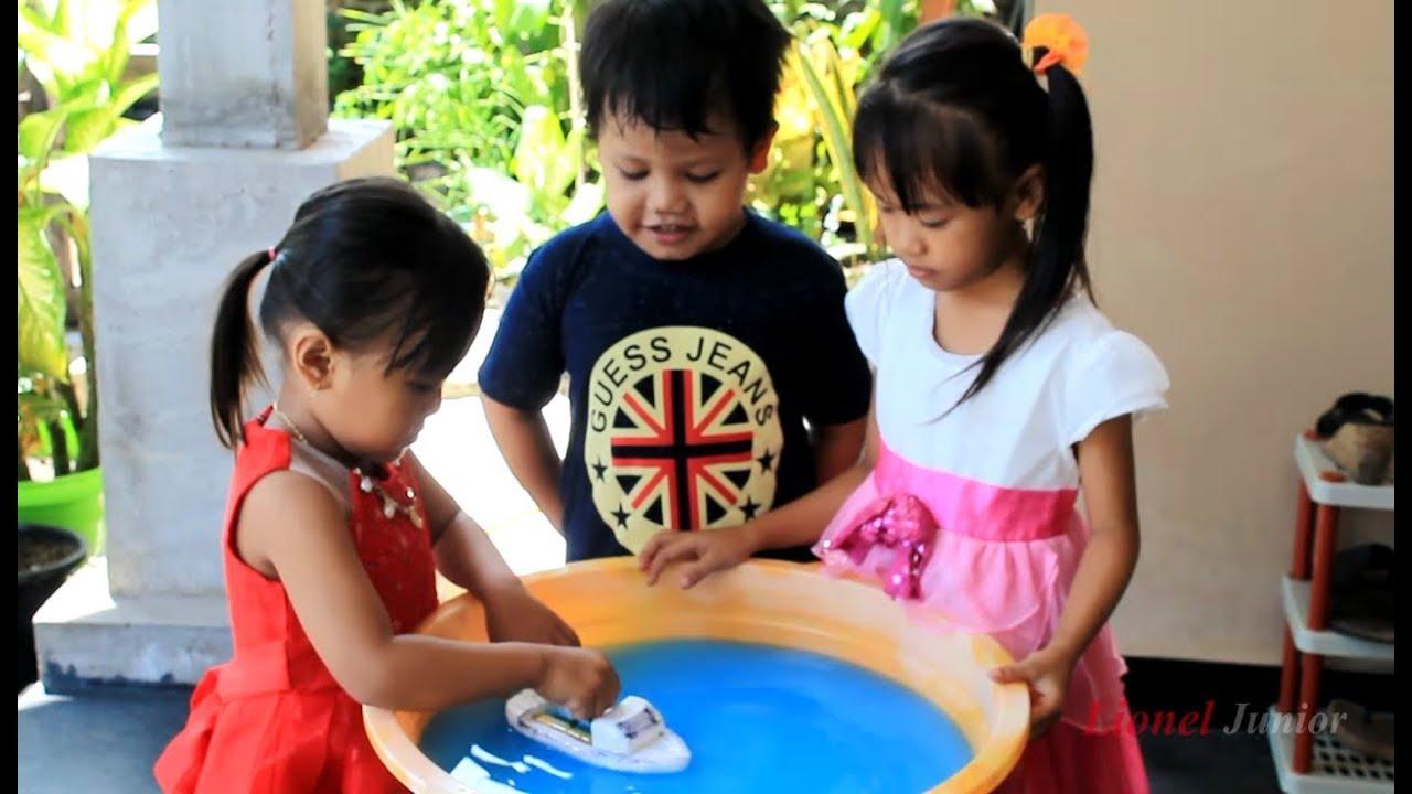 Cara Membuat Mainan Perahu Yang Sangat Sederhana Youtube Gelang Pengaris