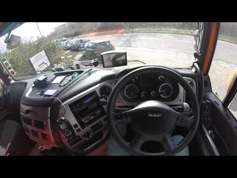 Tour of Daf XF 105 SSC