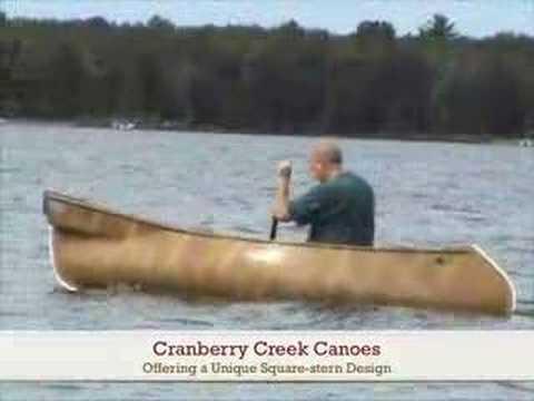 Cranberry Creek Canoe - Backwater Square-stern
