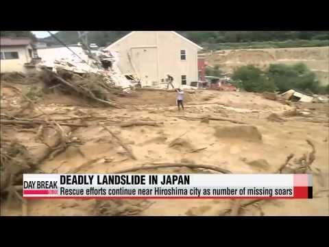"""More feared missing in Japan landslide, 2 Koreans confirmed affected   일본 """""""