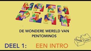 De wondere wereld van pentomino's 1 intro