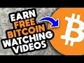 Earn FREE BITCOIN By Watching VIDEOS (Smartphone App ...