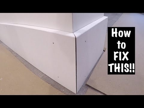 How To Fix Open Miters