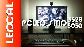 Подключение светодиодной ленты к компьютеру SMD3528/5050 DC12V(Подсветка для корпуса компьютера и монитора своими руками / Light body pc При добавлении подсветки телевизора..., 2013-11-12T14:31:38.000Z)