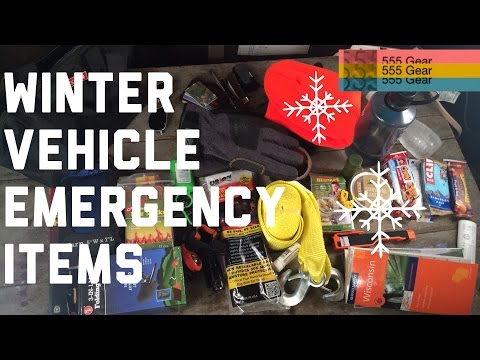 Winter Vehicle Emergency Items | Prepping Your Cars for Blizzards | In-Depth Gear How-to