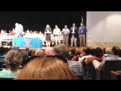 Award de Brandley en hanahan high school