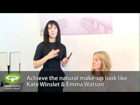 Green People's Natural Make Up Tutorial