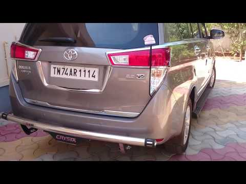 DIY -  Innova Crysta Spare wheel removal and Jacking