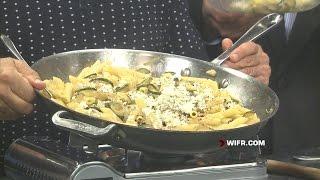 Mostaccioli With Zucchini