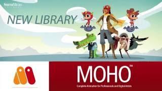 Moho Pro & Debut 12 (Anime Studio) - New Library Tutorial