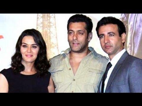 Salman launches the music of Preity Zinta's Ishkq in Paris