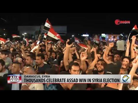 ASIA PRIME - Syria Election Celebrations