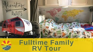 Gambar cover Fulltime Family RV Tour - Family Of 6 & A Dog Travel & Live In A 21 Foot Winnebago Travel Trailer