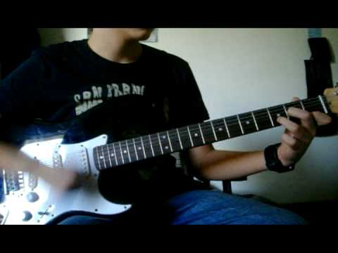 The All American Rejects - it Ends Tonight Guitar Cover
