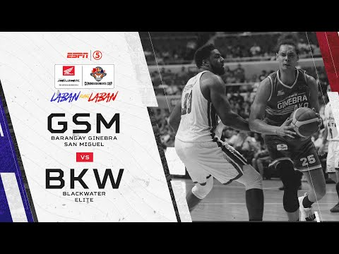 PBA: Ginebra vs. Blackwater (REPLAY) - May 24, 2019
