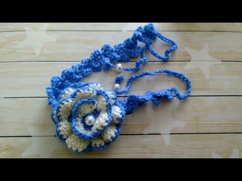 Моё вязание. Повязки на голову для девочек. My Knitting. Headbands For Girls.