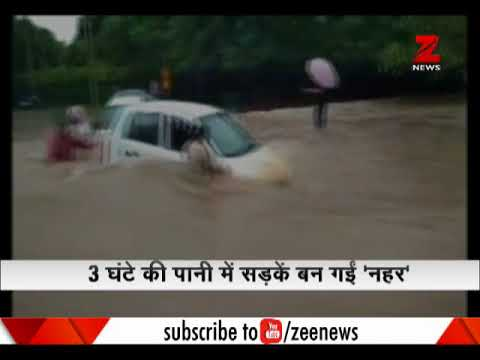 Chandigarh roads flood with monsoon water, 112 mm rains in 3 hours Mp3