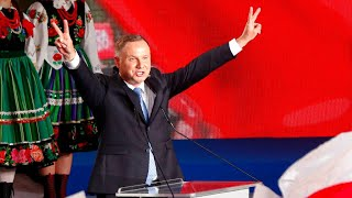 Poland election: Second round to go ahead after frontrunners fail to win majority