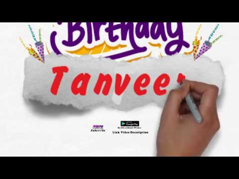 Happy Birthday Tanveer