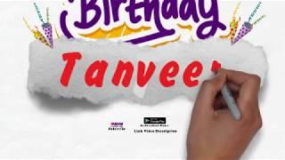 Happy Birthday Tanveer