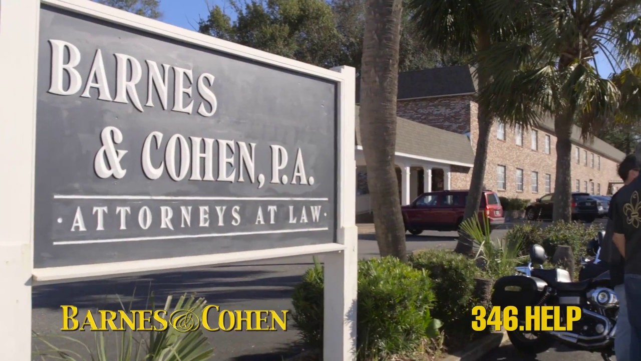 Barnes & Cohen We Protect Injured Victims - YouTube