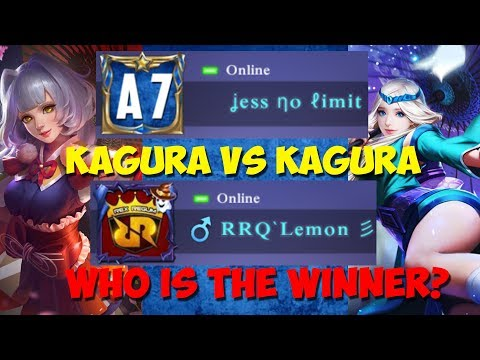 RRQ LEMON VS JESS NO LIMIT 1 VS 1 KAGURA !! GURU LAWAN MURIDNYA ! HAHAHA