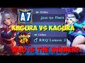 Rrq Lemon Vs Jess No Limit 1 Vs 1 Kagura  Guru Lawan Muridnya  Hahaha