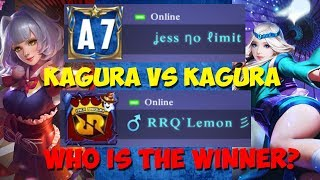 RRQ LEMON VS JESS NO LIMIT 1 VS 1 KAGURA !! GURU LAWAN MURIDNYA ! HAHAHA thumbnail