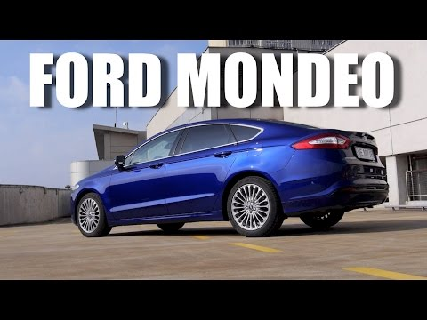 ENG Ford Mondeo 2015 Fusion 1.5 EcoBoost Test Drive and Review