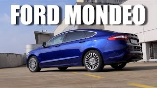 (ENG) Ford Mondeo 2015 (Fusion) 1.5 EcoBoost - Test Drive and Review