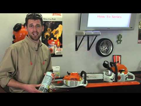 How To Store Your STIHL Gas Powered Equipment