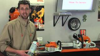 How Store Your Stihl Gas Powered Equipment