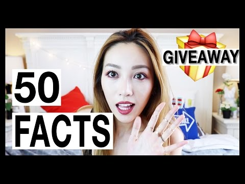 50 Facts About Me 关于我的50个问题