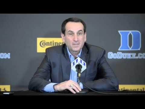 Mike Krzyzewski  press conference