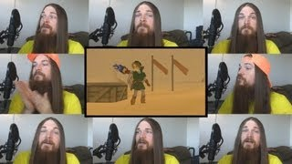 Repeat youtube video Gerudo Valley Acapella - Zelda Ocarina of Time