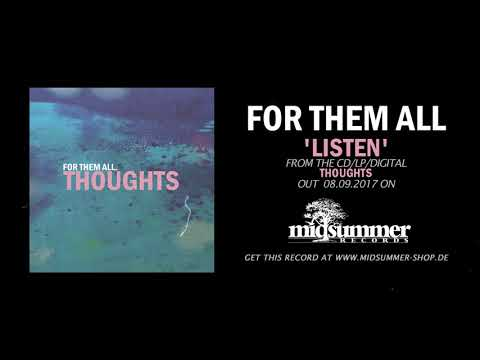 "FOR THEM ALL - ""Thoughts"" (Full EP)"