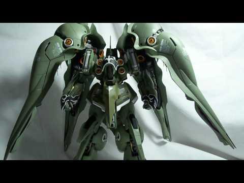 Gundam Review: 1/100 Kshatriya pt02
